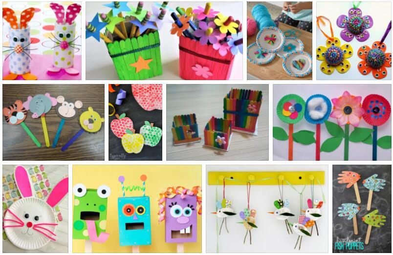 Craft ideas with children