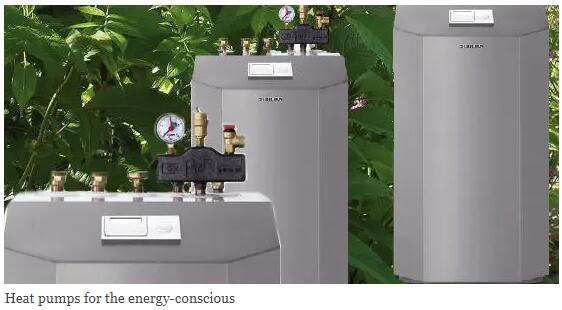 Heat pumps for the energy-conscious