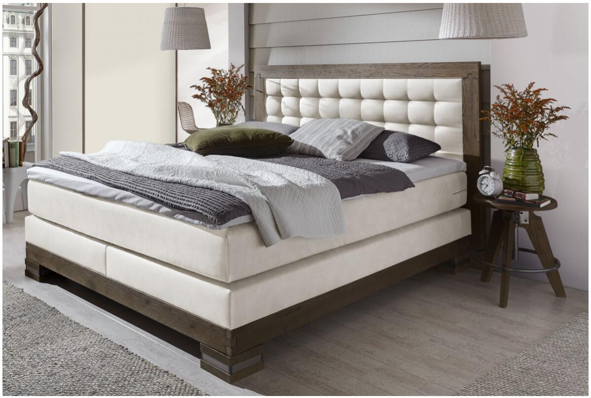 Box spring bed with bed box 2